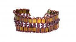 Armband lace lila