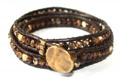 wraparmband brunt guld